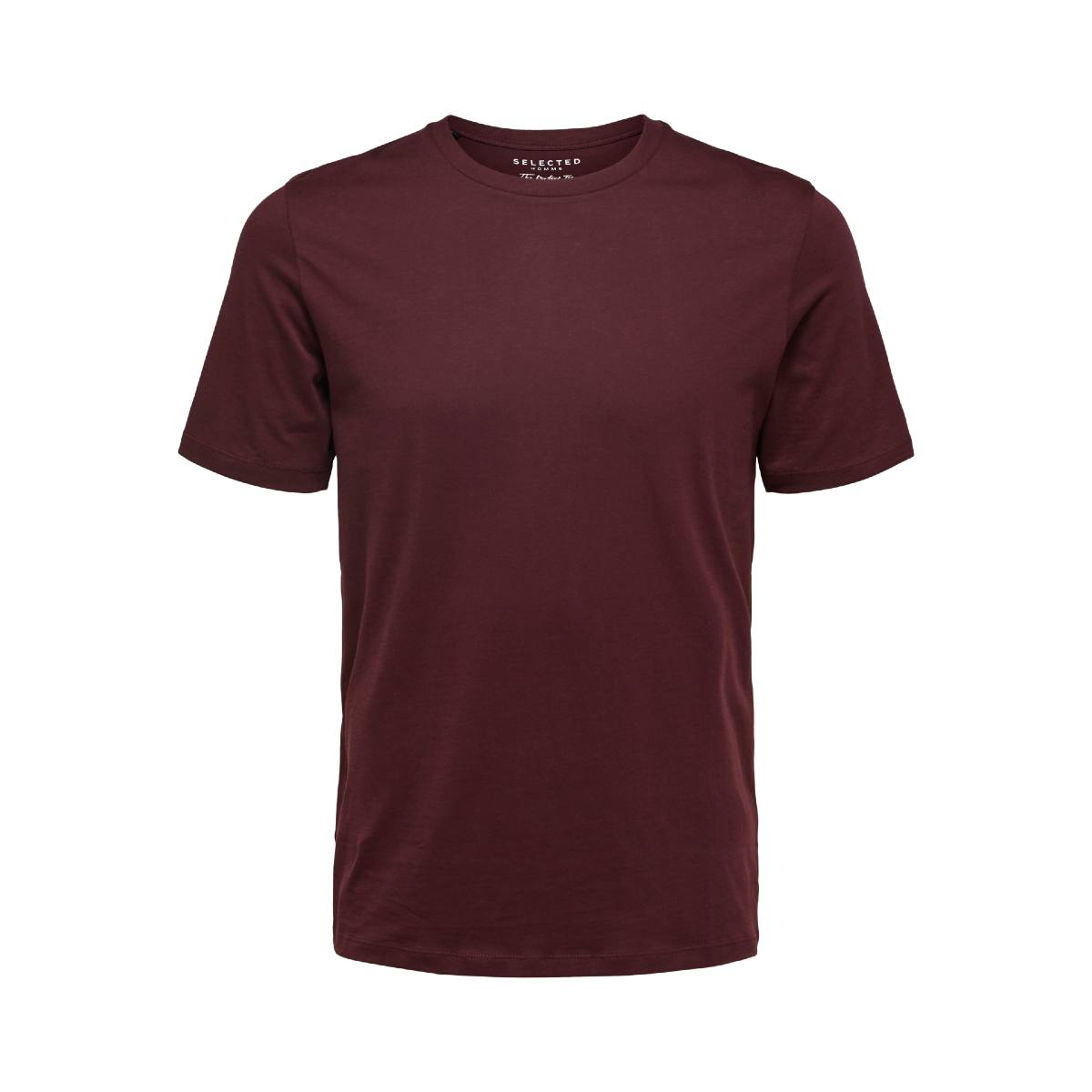 O-Neck T-Shirt Winetasting by Selected Homme | Restoration Yard