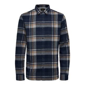Burro Check Shirt by Selected Homme | Restoration Yard