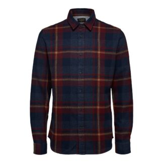 Port Royal Check Shirt by Selected Homme   Restoration Yard