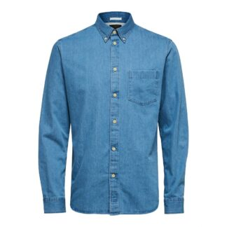 Light Blue Shirt by Selected Homme | Restoration Yard