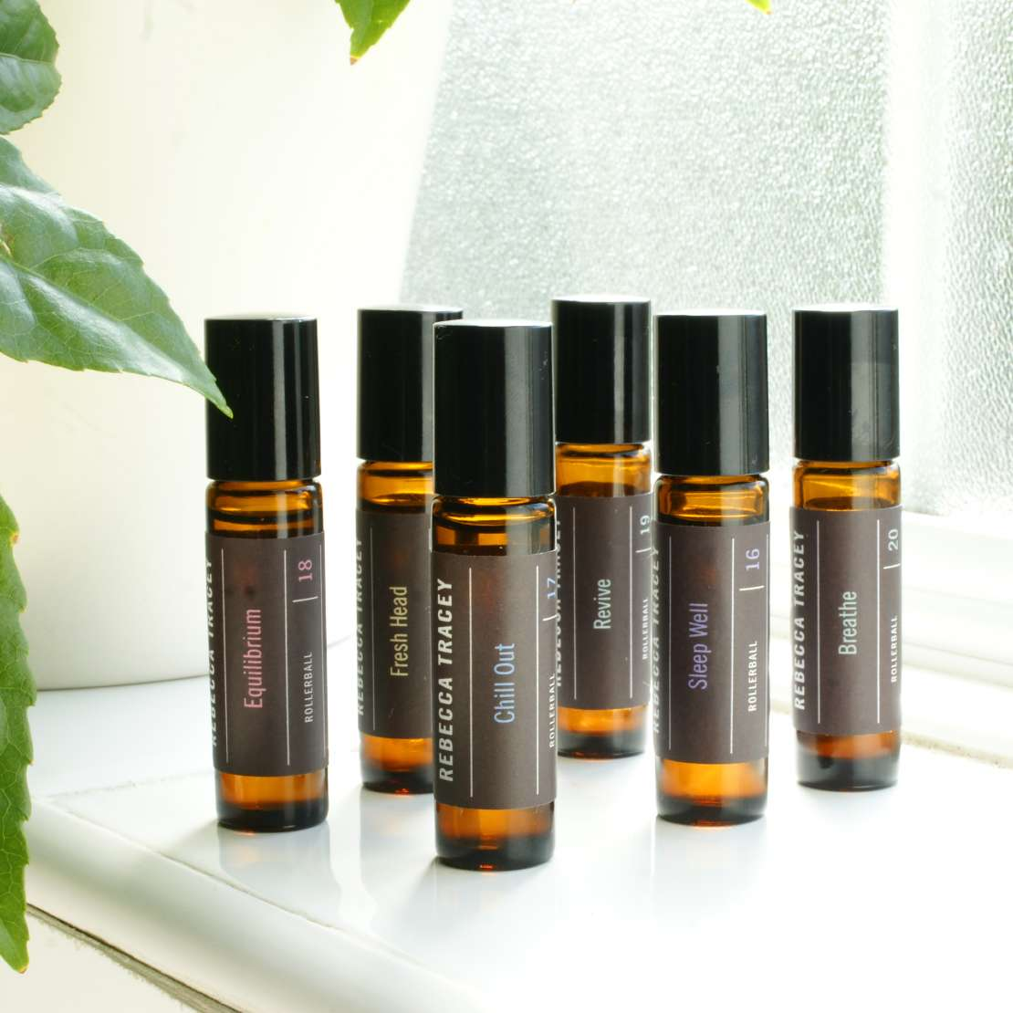 These rollerballs by Rebecca Tracey are the ultimate wellbeing pick-me-up
