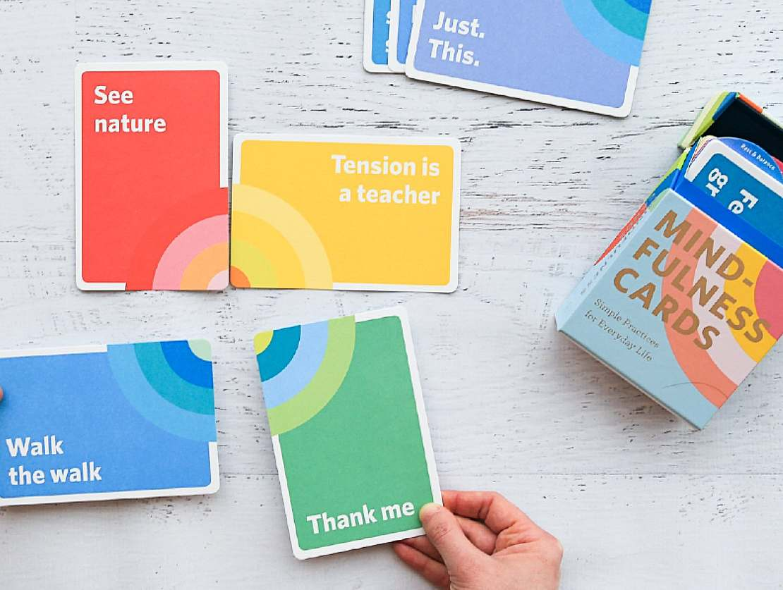 Mindfulness cards are the perfect wellbeing pick-me-up