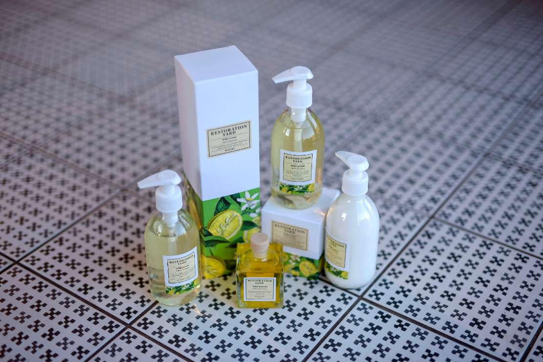 Restoration Yard Beauty & Wellness Wild Lemon Collection