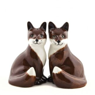 Foxes Salt and Pepper Shakers by Quail | Restoration Yard