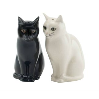 Lucky Cats Black and White by Quail | Restoration Yard