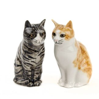 Patience and Squash Moggy Salt & Pepper Shakers by Quail | Restoration Yard