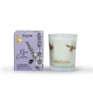 Lavender & Geranium Votive by Beefayre | Restoration Yard