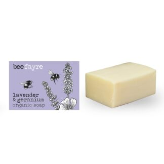 Lavender & Geranium Organic Soap by Beefayre | Restoration Yard
