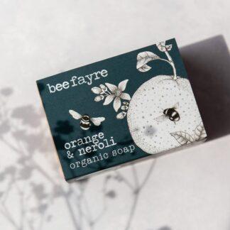 Orange & Neroli Organic Soap by Beefayre | Restoration Yard