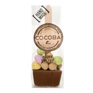 Mini Easter Egg Hot Chocolate Spoon by Cocoba   Restoration Yard
