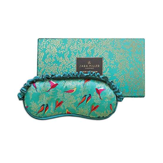 Heathcote & Ivory Sara Miller Eye Mask is a sleep time indulgence that says you love her this Mother's Day.