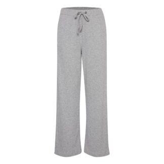 Ihyose Grey Sweat Pants by ICHI | Restoration Yard