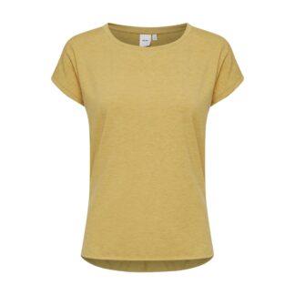 Ihrebel Mustard T-Shirt by ICHI | Restoration Yard