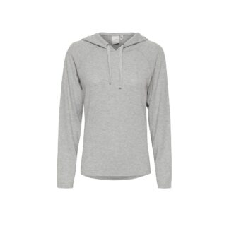 Ihyose Hooded Grey Sweat Shirt by ICHI | Restoration Yard