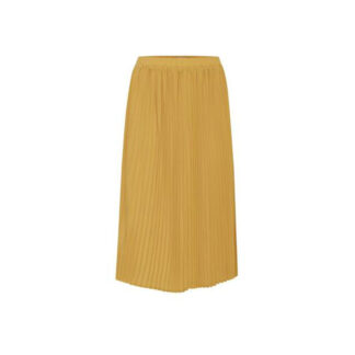 Mineral Yellow Pleated Skirt By ICHI | Restoration Yard