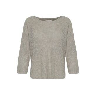 Cetrona Flint Grey Jumper by Part Two | Restoration Yard