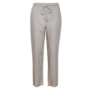 Harena Linen Grey Flint Trousers by Part Two | Restoration Yard