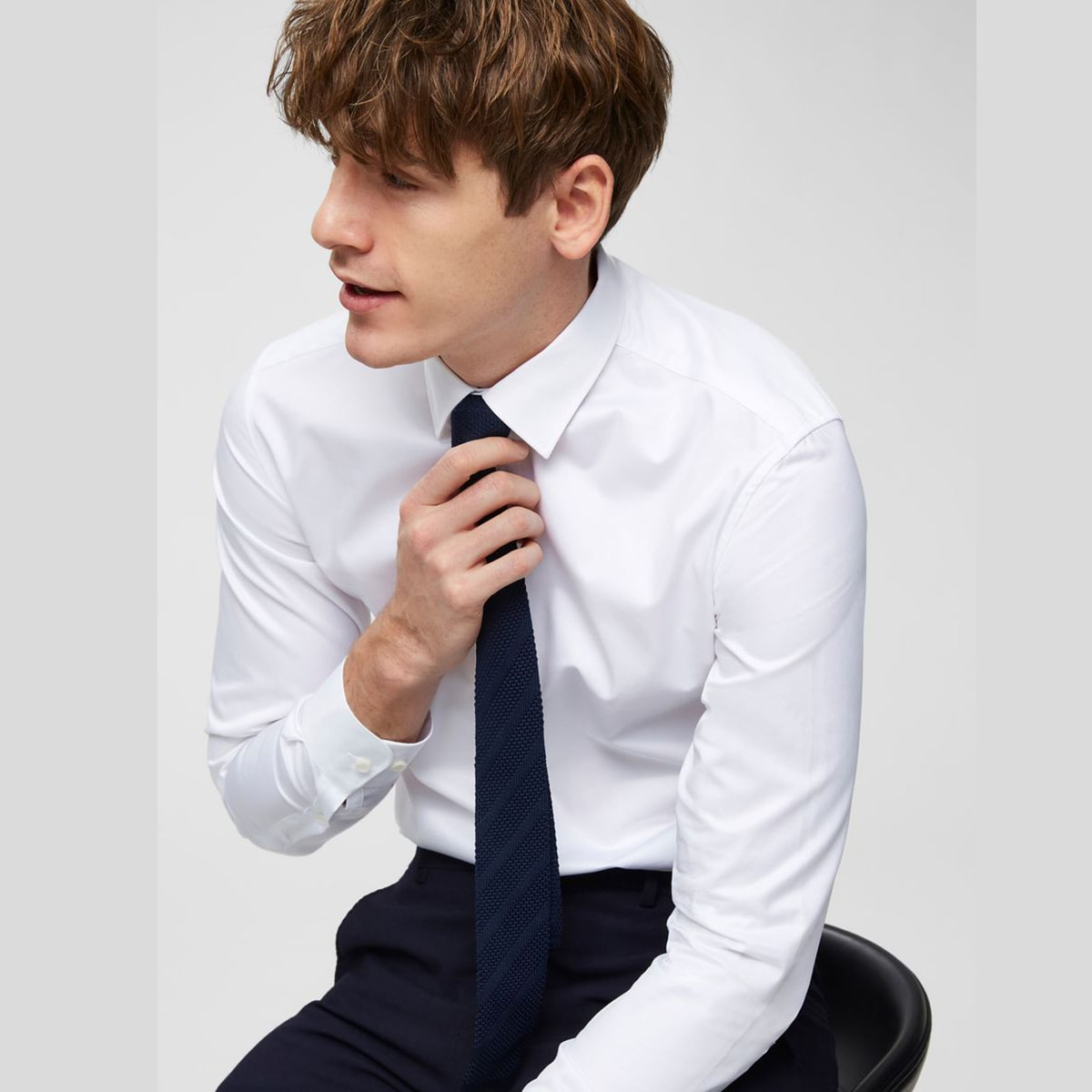 Wyoming Shirt Bright White by Selected Homme | Restoration Yard