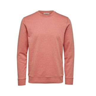 Crewneck Sweater Lobster Bisque Selected Homme | Restoration Yard
