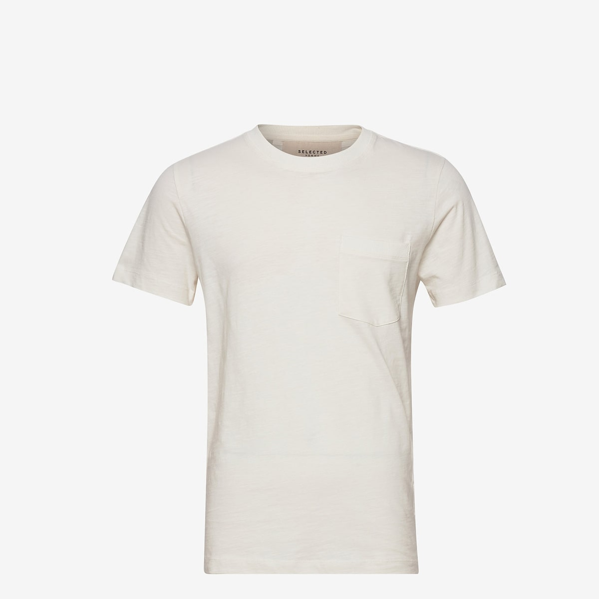 Jared Tee Egret by Selected Homme | Restoration Yard