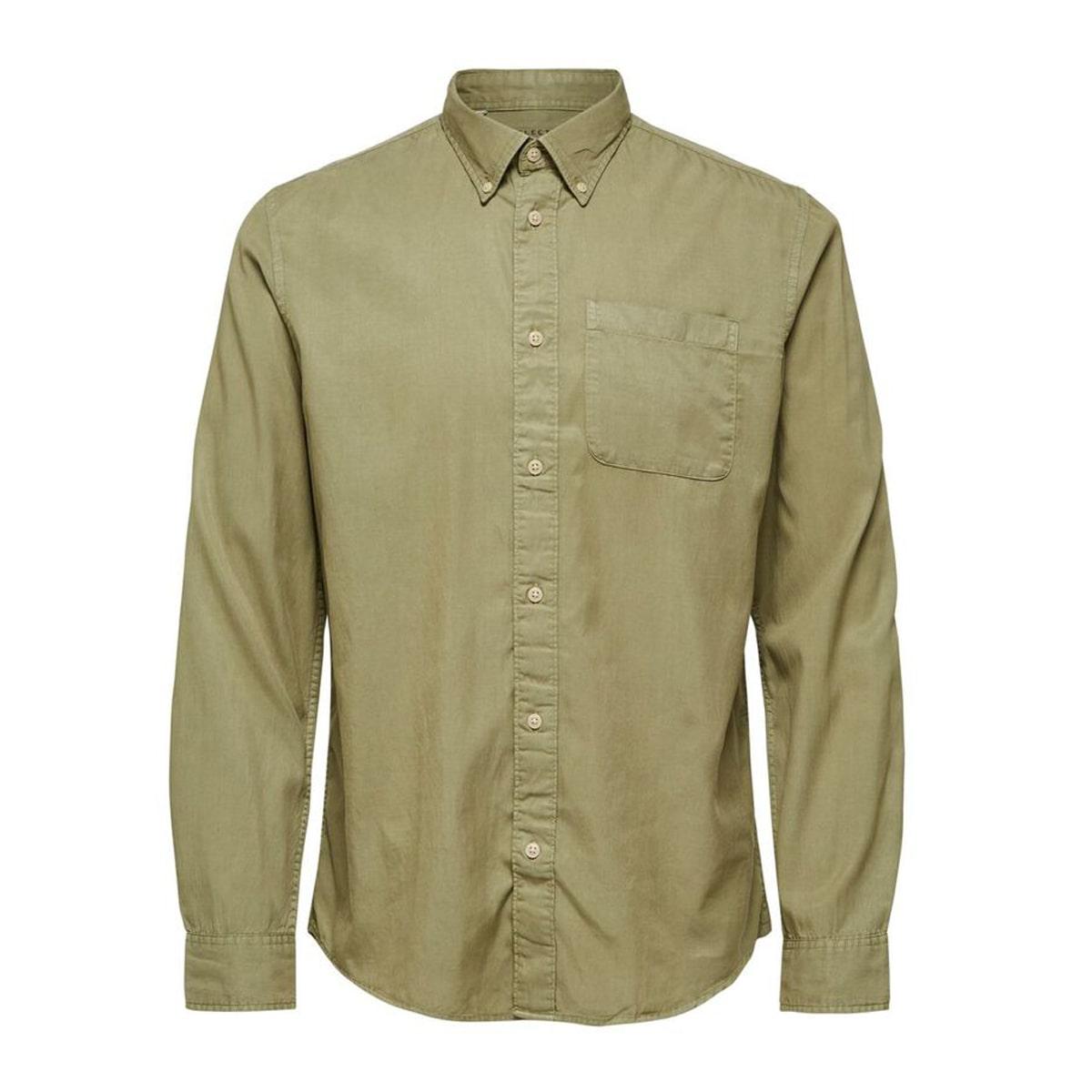 Soft Tencel Lyocell Aloe Shirt by Selected Homme | Restoration Yard