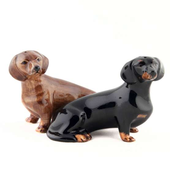 One of our best unexpected Mother's Day gifts - Dachshund Salt & Pepper Shakers!