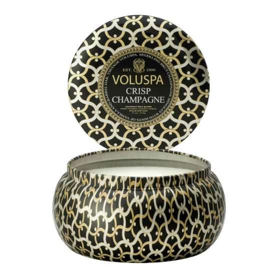 Voluspa's Noir Crisp Two Wick Candle is an inspired unexpected Mother's Day gift