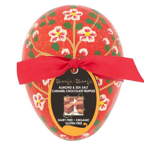 BOoja Booja Almond and Sea Salt Caramel Chocolate Truffles are a cute easter gift