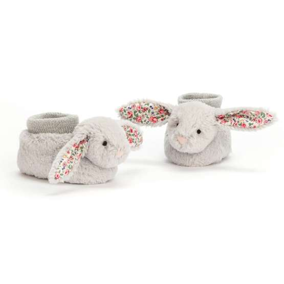 Super cute bunny booties make a lovely Easter gift for a baby