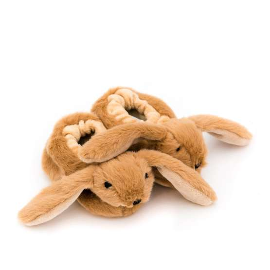 Bunny slippers are a cute Easter gift and an alternative to chocolate