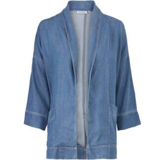Jasna Blue Denim Jacket by Masai | Restoration Yard