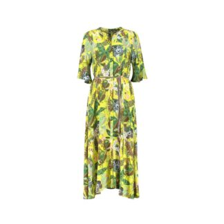 Jungle Beats Lemon Dress by POM Amsterdam | Restoration Yard