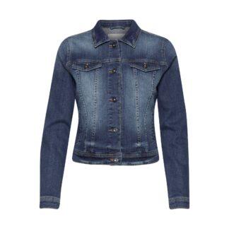 Instampe Denim Jacket by Ichi | Restoration Yard