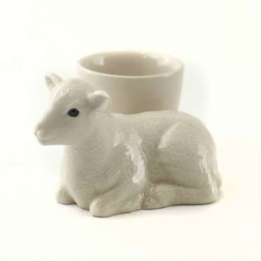 Cute Lamb Easter Egg Cup