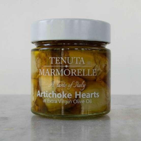 Cook your way to Italy Artichoke hearts tenuta marmorelle