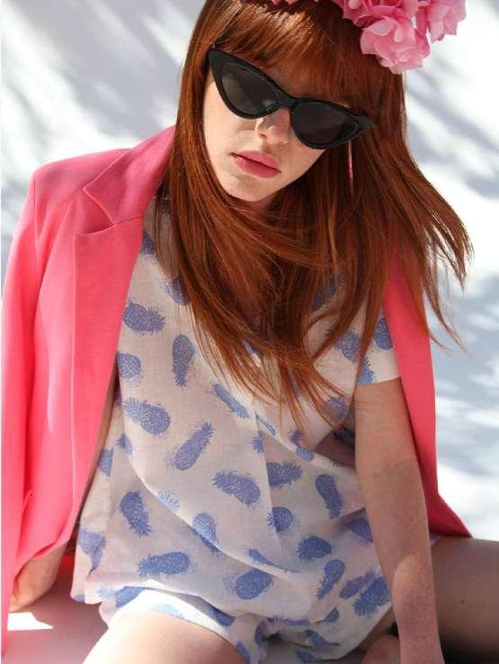 Vilagallo Antonet Pink Jacket