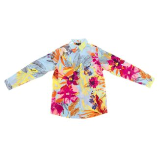 Multi Flower Shirt by Happy Few | Restoration Yard