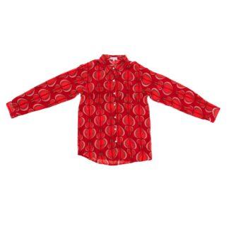 Red Fig Pattern Shirt by Happy Few | Restoration Yard