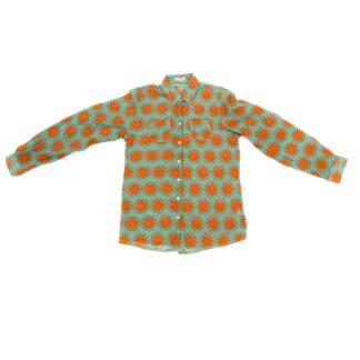 Turquoise/Orange Shirt by Happy Few | Restoration Yard