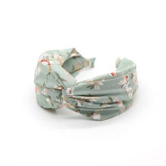 Aqua Vintage Flower Headband by POM | Restoration Yard
