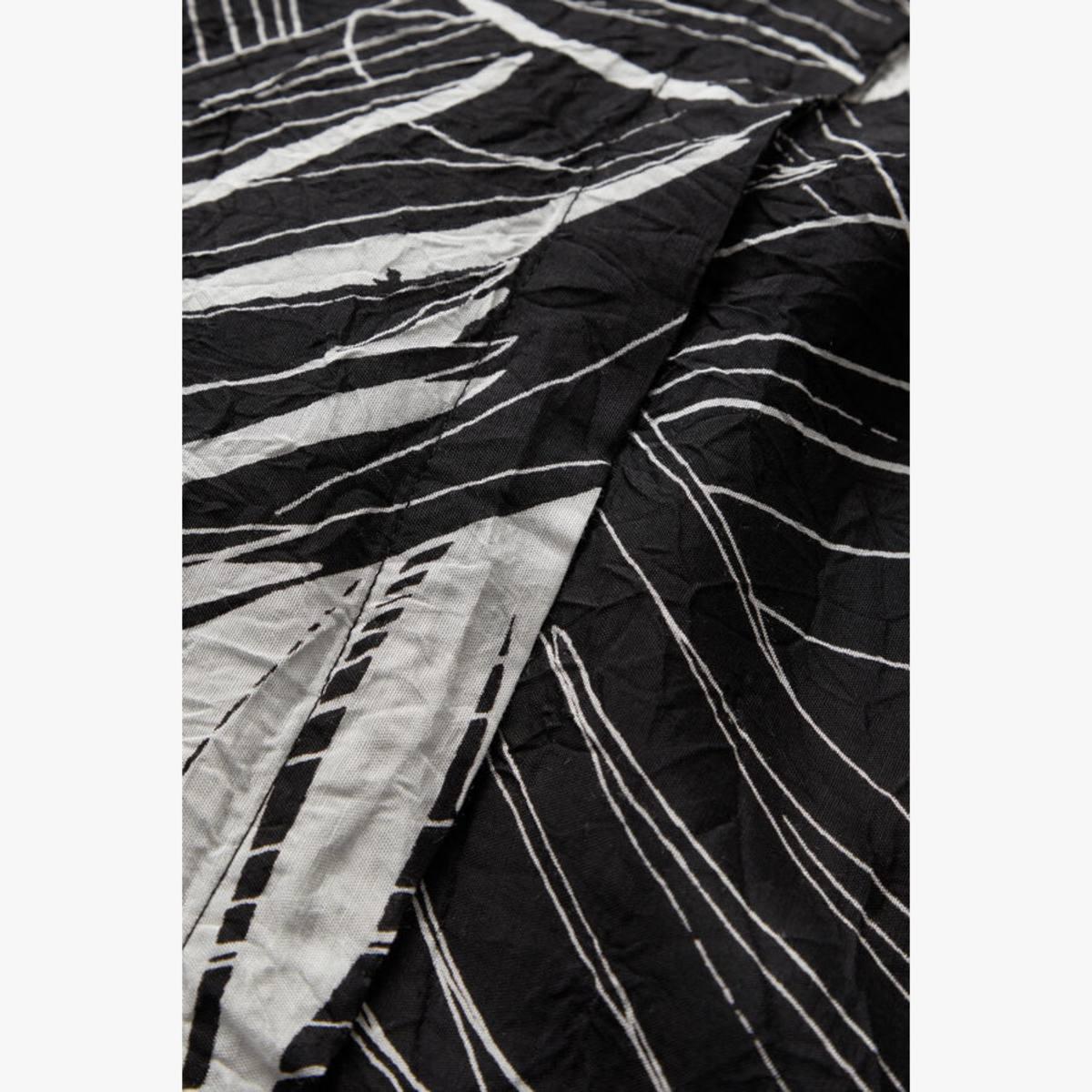 Geam Black/Cream Print Shirt By Masai | Restoration Yard