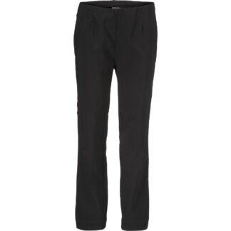 Poppy Regular Black Trousers by Masai Clothing | Restoration Yard