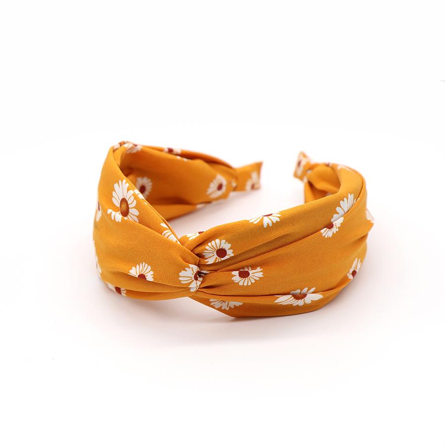 Mustard Daisy Headband by POM | Restoration Yard