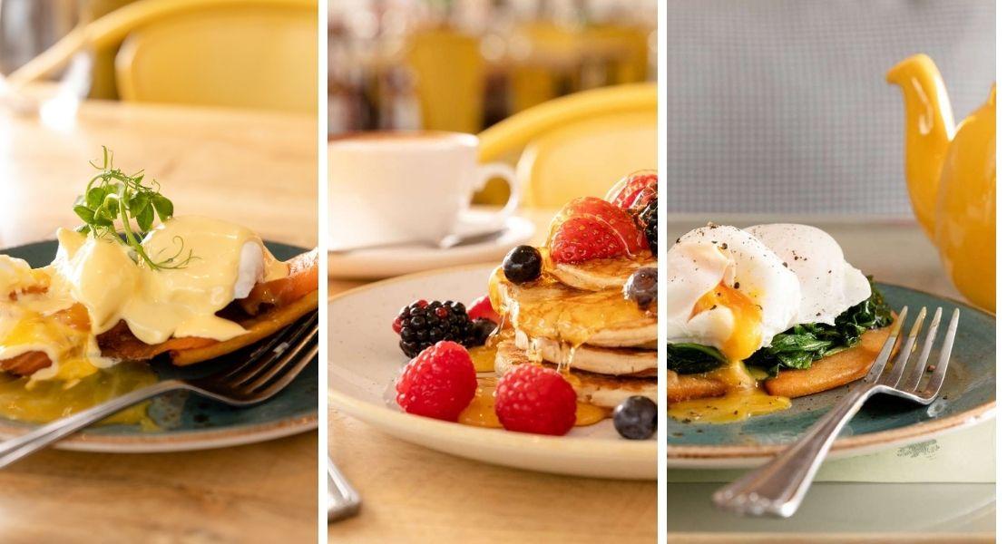 breakfast or brunch in The Kitchen at Restoration Yard