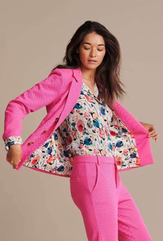 Pom Amsterdam Smashing Pink Blazer