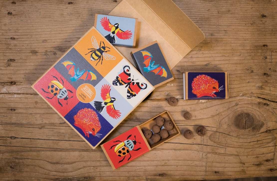Seedball Wildlife Collection 1. best Garden lover gift