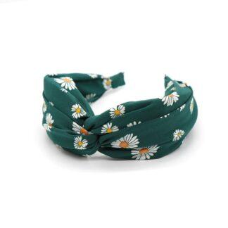 Green Daisy Headband by POM | Restoration Yard