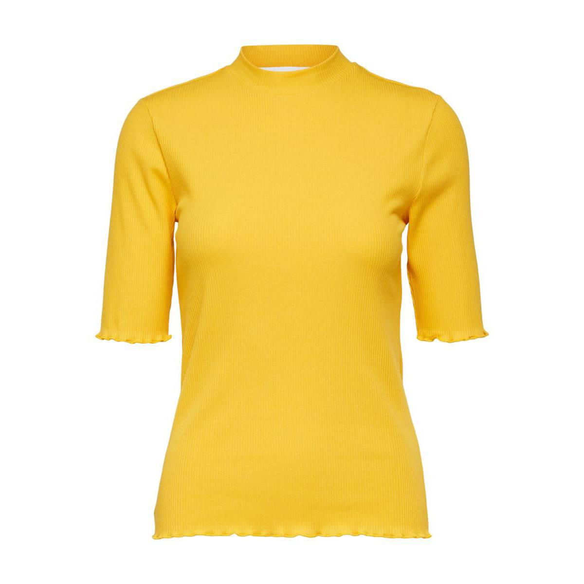 Fanna Citrus Crew Neck Tee by Selected Femme | Restoration Yard