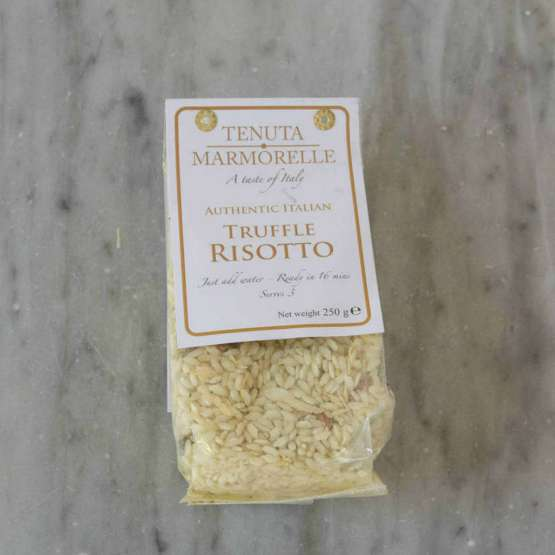 Tenuta Marmorelle Truffle Risotto is a delicious way to cook your way to Italy.