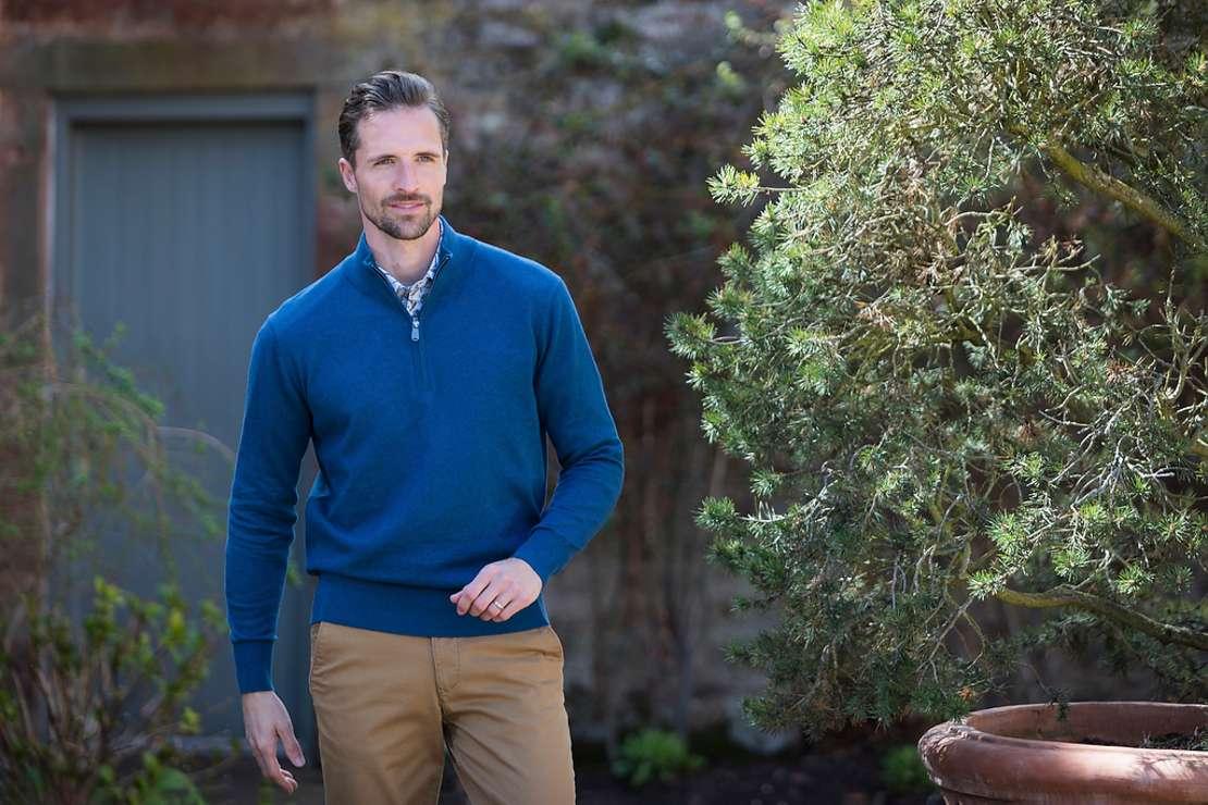 Vedoneire Half Zip Sweater Spring/Summer 2021 Menswear